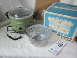 Vintage Electric Cooker Deep Fryer -NOS