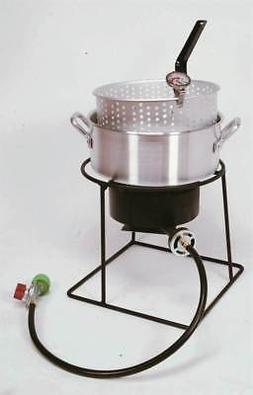 Welded 54,000 BTU Propane Outdoor Cooker