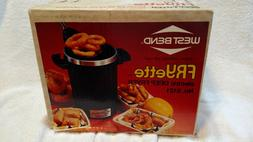 West Bend FRYette Electric Deep Fryer NEW in Box N0 5121 Nev