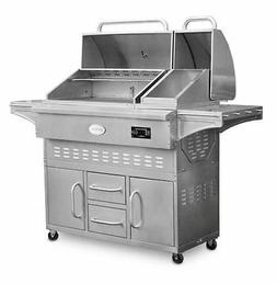 Louisiana Grills Wood Pellet Grill and Smoker with Cart, Est