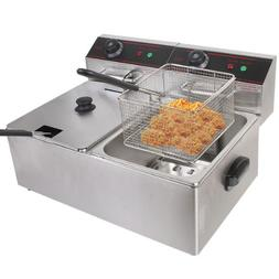 GHP Business Heavy Duty Tabletop Stainless Steel 110V Dual T
