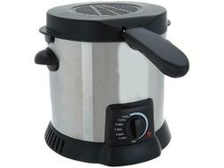 Yes Chef! 1 Liter Compact Snack Deep Fryer K45573