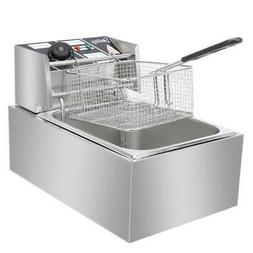 ZOKOP EH81 2500W MAX 110V 6.3QT/6L Stainless Steel Single Cy